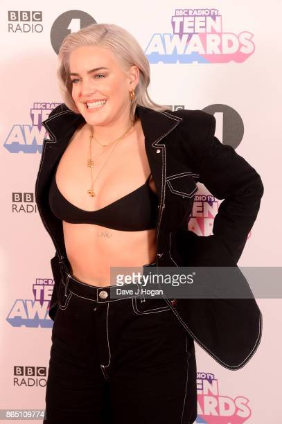 AnneMarie attends the BBC Radio 1 Teen Awards 2017 at Wembley Arena on October 22 2017 in London England