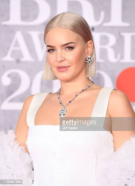 AnneMarie attends The BRIT Awards 2019 held at The O2 Arena on February 20 2019 in London England
