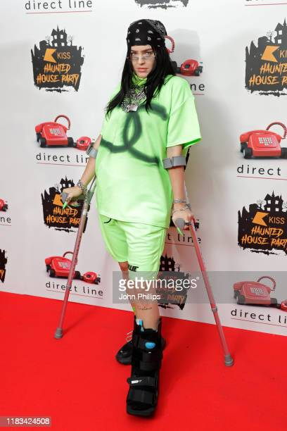 AnneMarie attends the KISS Haunted House Party 2019 at The SSE Arena Wembley on October 25 2019 in London England