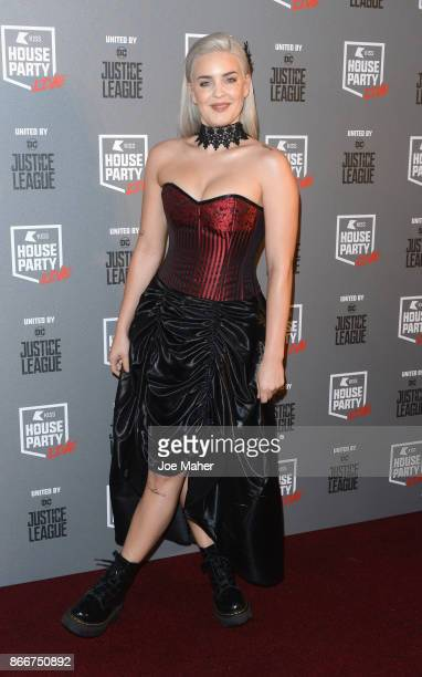 AnneMarie attends the Kiss Haunted House Party held at SSE Arena on October 26 2017 in London England