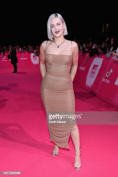 AnneMarie attends the MTV EMAs 2018 on November 4 2018 in Bilbao Spain