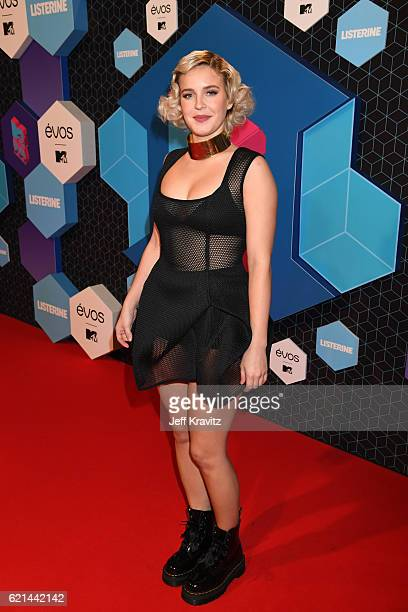 AnneMarie attends the MTV Europe Music Awards 2016 on November 6 2016 in Rotterdam Netherlands