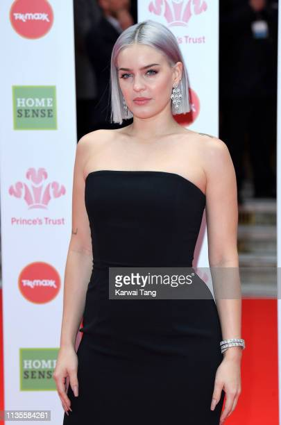 AnneMarie attends The Prince's Trust TKMaxx and Homesense Awards at The Palladium on March 13 2019 in London England