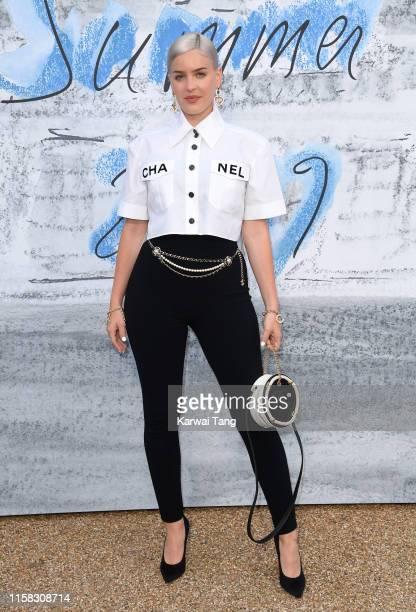 AnneMarie attends The Summer Party 2019 Presented By Serpentine Galleries And Chanel at The Serpentine Gallery on June 25 2019 in London England