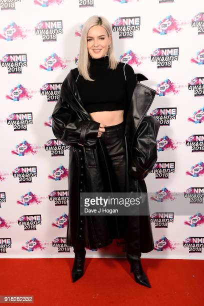 AnneMarie attends the VO5 NME Awards held at Brixton Academy on February 14 2018 in London England