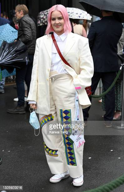 Anne-Marie attends the Wimbledon Tennis Championships at All England Lawn Tennis and Croquet Club on June 28, 2021 in London, England.
