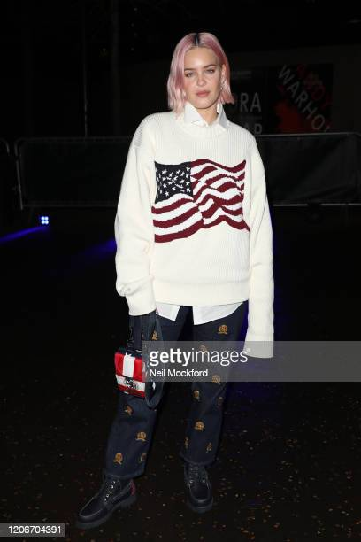 AnneMarie attends Tommy Hilfiger at Tate Modern during LFW February 2020 on February 16 2020 in London England