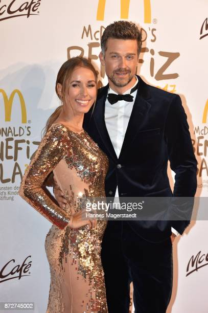 Annemarie Carpendale and her husband Wayne Carpendale during the McDonald's charity gala at Hotel Bayerischer Hof on November 10 2017 in Munich...