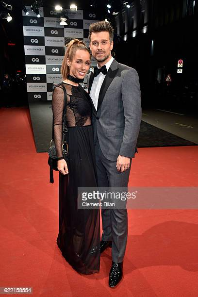 Annemarie Carpendale and Wayne Carpendale arrive at the GQ Men of the year Award 2016 at Komische Oper on November 10 2016 in Berlin Germany