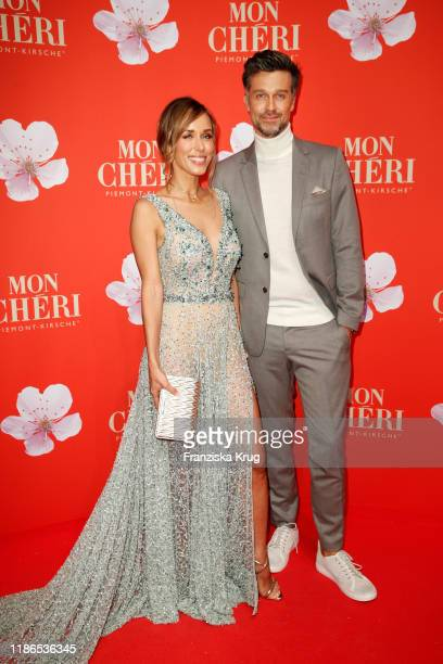 Annemarie Carpendale and Wayne Carpendale during the Mon Cheri Barbara Tag at Isarpost on December 4 2019 in Munich Germany