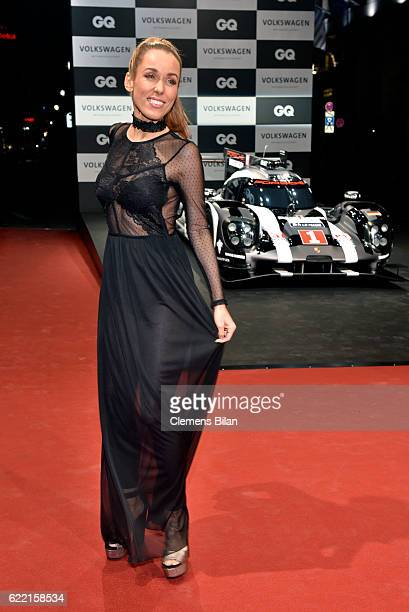 Annemarie Carpendale arrives at the GQ Men of the year Award 2016 at Komische Oper on November 10 2016 in Berlin Germany