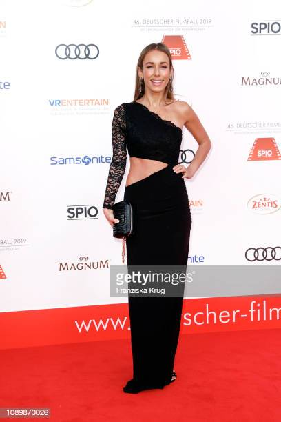 Annemarie Carpendale during the 46th German Film Ball at Hotel Bayerischer Hof on January 26 2019 in Munich Germany
