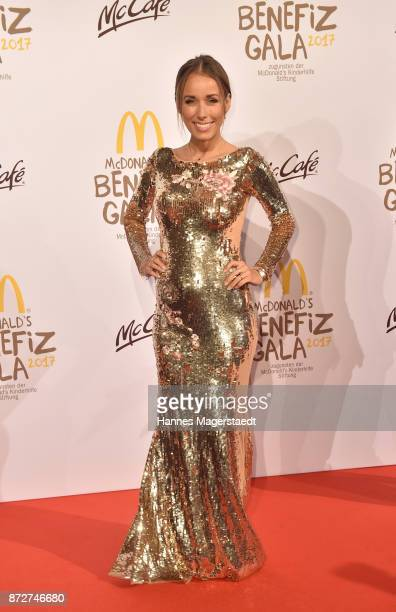 Annemarie Carpendale during the McDonald's charity gala at Hotel Bayerischer Hof on November 10 2017 in Munich Germany