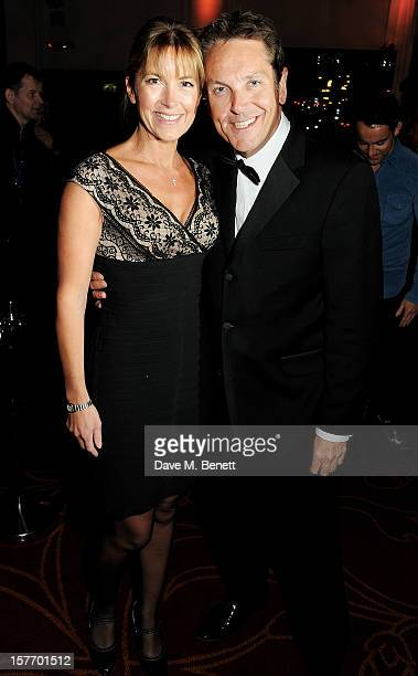Anne-Marie Conley and Brian Conley attend an after party celebrating the press night performance of 'The Bodyguard' at on December 5, 2012 in London,...