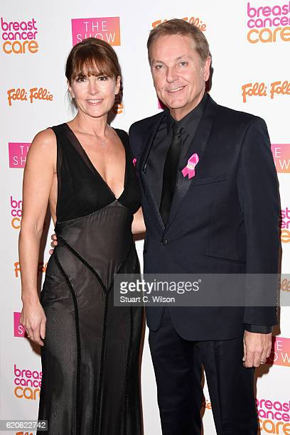 Anne-Marie Conley and Brian Conley attend the Breast Cancer Care London Fashion Show in association with Folli Follie 2016 at Park Plaza Westminster...