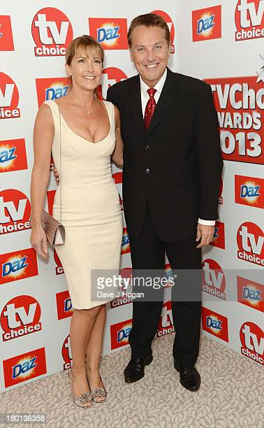 Anne-Marie Conley and Brian Conley attend the TV Choice Awards 2013 at The Dorchester on September 9, 2013 in London, England.