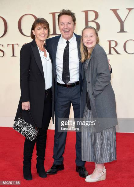 AnneMarie Conley and Brian Conley attend the World Premiere of 'Goodbye Christopher Robin' at Odeon Leicester Square on September 20 2017 in London...