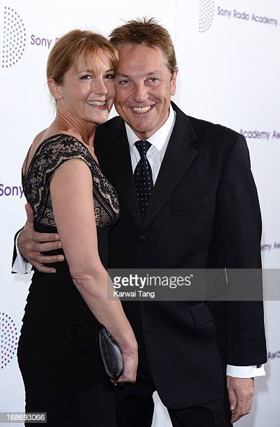Anne-Marie Conley and Brian Conley attends the Sony Radio Academy Awards at The Grosvenor House Hotel on May 13, 2013 in London, England.