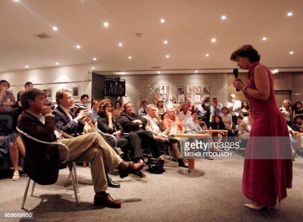 AnneMarie Couderc directrice générale adjointe du groupe Hachette Filipacchi Médias et directrice générale de la presse magazine France d'Hachette...