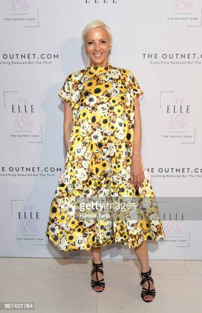AnneMarie Curtis attends The ELLE List 2018 at Spring at Somerset House on June 4 2018 in London England