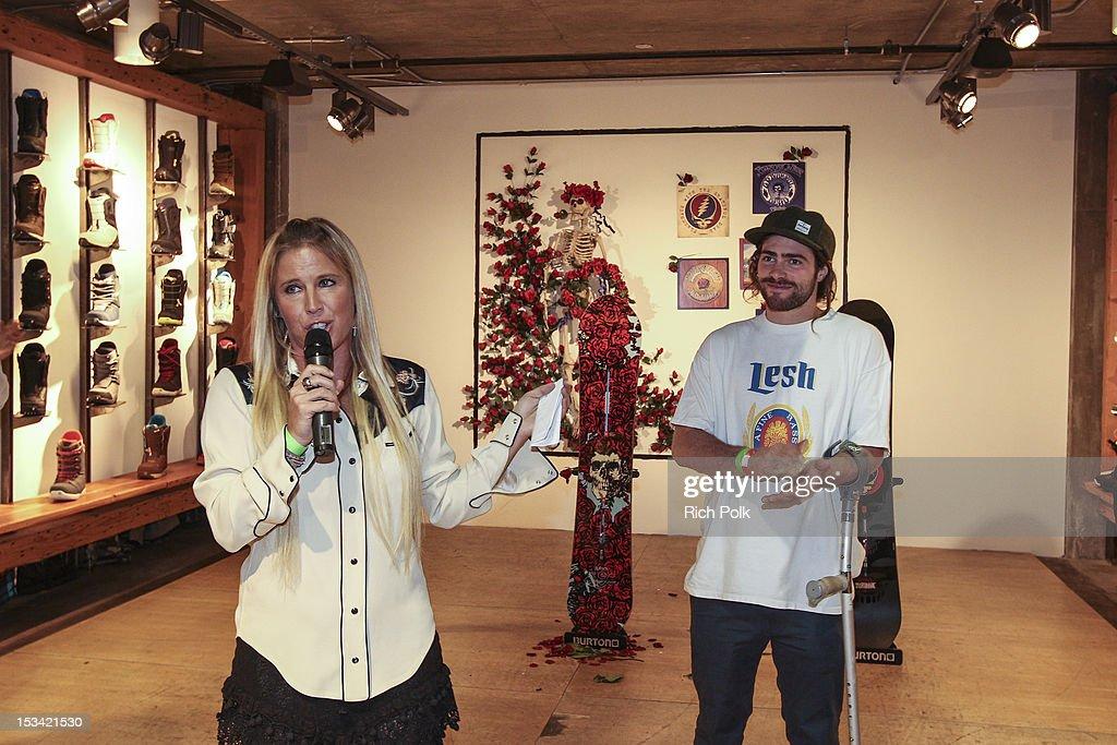 Burton x Grateful Dead Collab Launch Party : News Photo