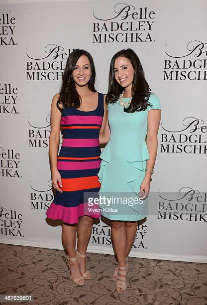 Annemarie Dillard and Alexandra Dillard attend Badgley Mischka Celebrates The Kentucky Derby With Special Appearance At Dillards on May 1 2014 in New...
