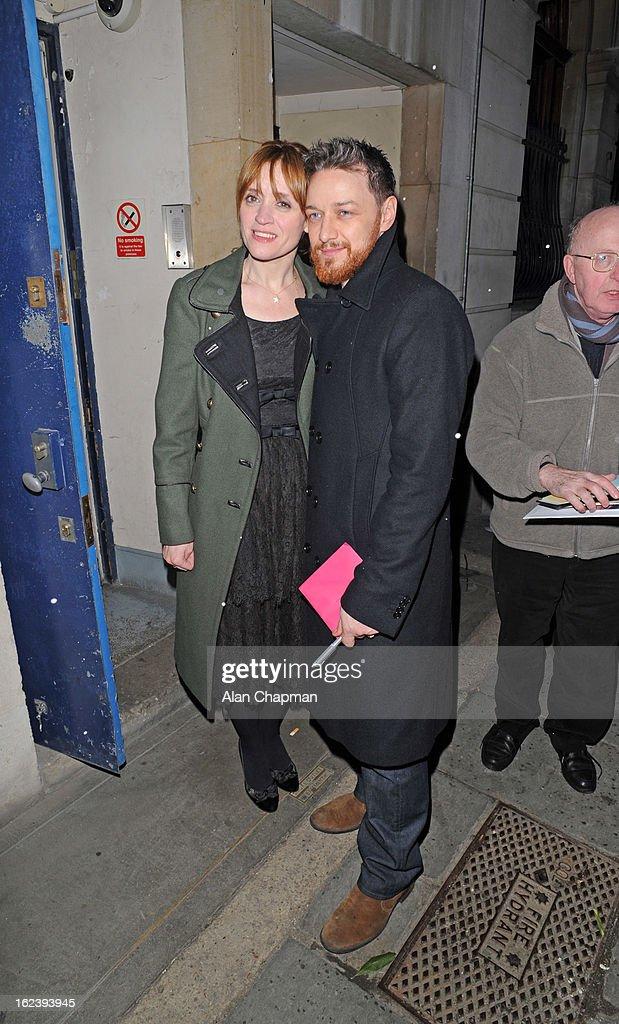 Celebrity Sightings In London - February 22, 2013 : News Photo