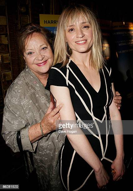 AnneMarie Duff and Sylvia Syms attend the Gala premiere of 'Is Anybody There' held at The Curzon Cinema Mayfair on April 29 2009 in London England