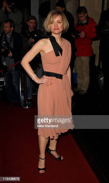 AnneMarie Duff arrives for the Laurence Olivier Awards 2008 at Grosvenor House on March 9 2008 in London England