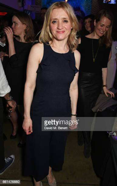 AnneMarie Duff attend 'Brave New Works The Almeida Fundraising Gala 2017' at The Almeida Theatre on March 30 2017 in London England
