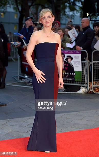 AnneMarie Duff attends a screening of Suffragette on the opening night of the BFI London Film Festival at Odeon Leicester Square on October 7 2015 in...