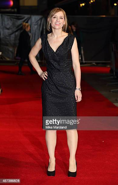 AnneMarie Duff attends a screening of The Disappearance Of Eleanor Rigby during the 58th BFI London Film Festival at Odeon West End on October 17...