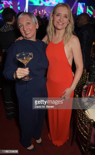 AnneMarie Duff attends the after party of the 65th Evening Standard Theatre Awards in association with Michael Kors at the London Coliseum on...