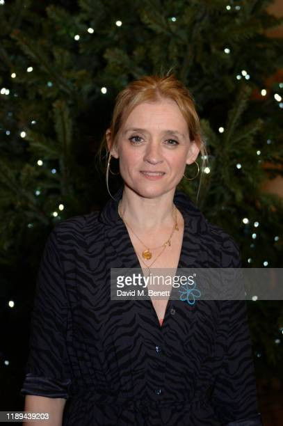 AnneMarie Duff attends the Alzheimer's Society's Carols At Christmas hosted by Carey Mulligan at Southwark Cathedral on December 18 2019 in London...