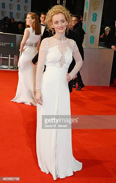 AnneMarie Duff attends the EE British Academy Film Awards at The Royal Opera House on February 8 2015 in London England