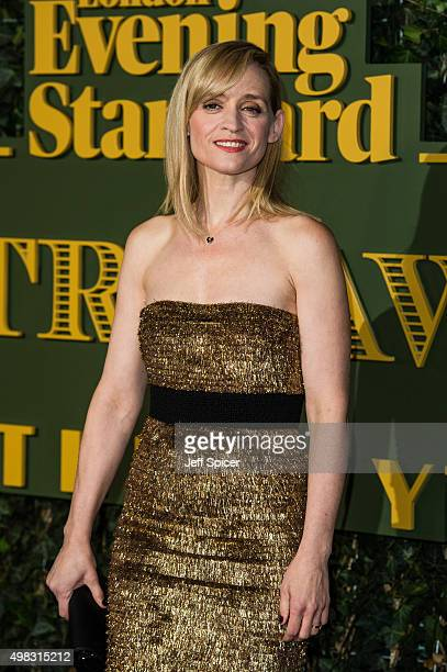 AnneMarie Duff attends the Evening Standard Theatre Awards at The Old Vic Theatre on November 22 2015 in London England