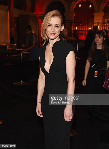 AnneMarie Duff attends the Moet British Independent Film Awards 2015 at Old Billingsgate Market on December 6 2015 in London England