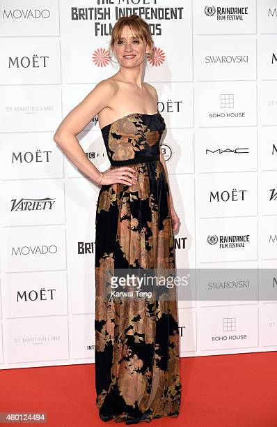 AnneMarie Duff attends the Moet British Independent Film Awards at Old Billingsgate Market on December 7 2014 in London England
