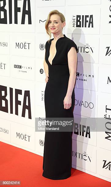 AnneMarie Duff attends the Moet British Independent Film Awards at Old Billingsgate Market on December 6 2015 in London England