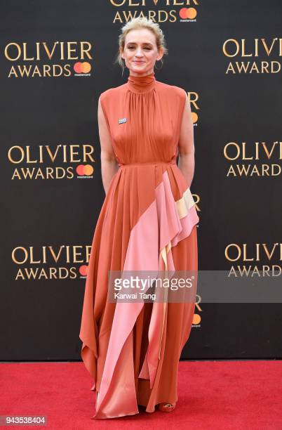 AnneMarie Duff attends The Olivier Awards with Mastercard at Royal Albert Hall on April 8 2018 in London England