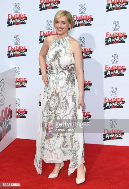 AnneMarie Duff attends the THREE Empire awards at The Roundhouse on March 19 2017 in London England
