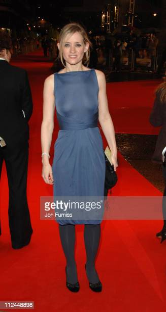 AnneMarie Duff during 'Becoming Jane' London Premiere Inside Arrivals at Odeon Westend in London Great Britain