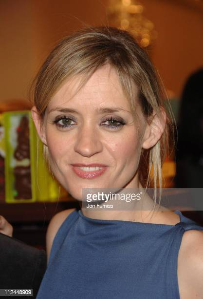 AnneMarie Duff during Becoming Jane London Premiere Party at Fortnum Mason in London Great Britain