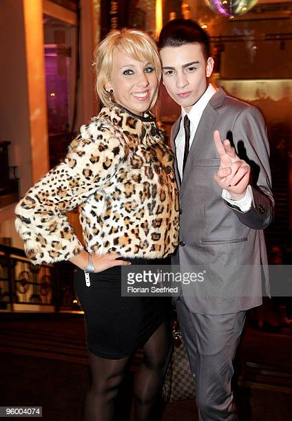 Annemarie Eilfeld and Giovanni Milano attend the afterparty of the Michalsky Style Night at Friedrichstadtpalast on January 22 2010 in Berlin Germany