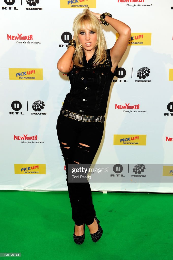 Annemarie Eilfeld arrives at 'The Dome 54' at Schleyerhalle on May 20, 2010 in Stuttgart, Germany.