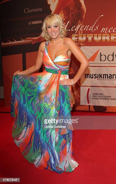 Annemarie Eilfeld attends the LEA Live Entertainment Award 2014 at Festhalle Frankfurt on March 11 2014 in Frankfurt am Main Germany