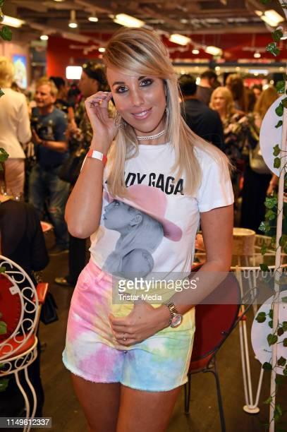 Annemarie Eilfeld attends the TK Maxx Late Night Shopping event on June 12, 2019 in Berlin, Germany.
