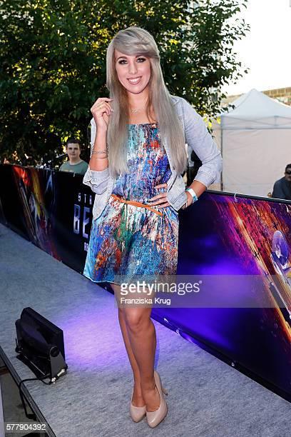 Annemarie Eilfeld attends the VIP screening of the film 'Star Trek Beyond' at Zoopalast on July 19 2016 in Berlin Germany