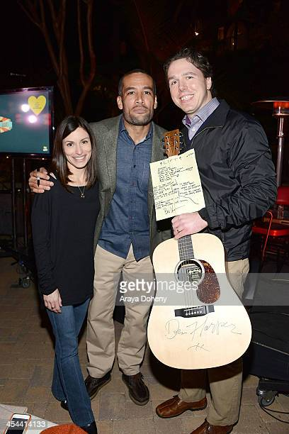 AnneMarie Esser Ben Harper and Adam C Esser MD attend upLIFTing Los Angeles Ben Harper @ Sunset a private concert benefitting LIFTLA at Private...