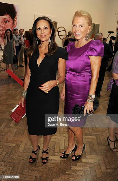AnneMarie Graff and Eva O'Neill attend the Royal Academy of Arts' summer exhibition preview party at the Royal Academy of Arts on June 2 2011 in...
